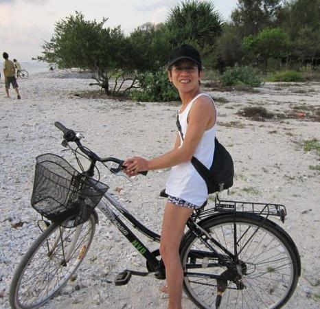 Gili Trawangan: Bicycle for rent