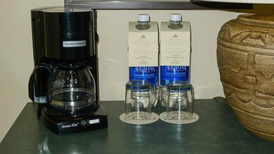 Hyatt Regency Tamaya Resort & Spa: Expensive water for sale in room