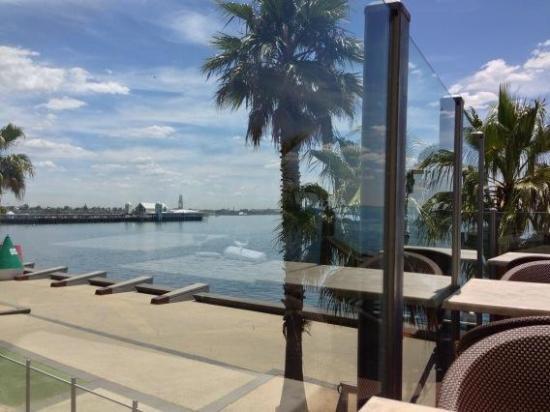 Le Parisien: View from the deck
