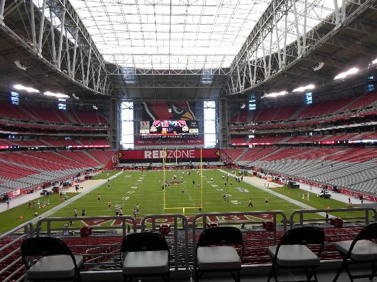 University of Phoenix Stadium: grass field