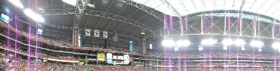 University of Phoenix Stadium: U of Phx Stadium inside