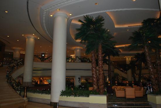Shanghai Marriott Hotel Hongqiao: Lounge and bar area