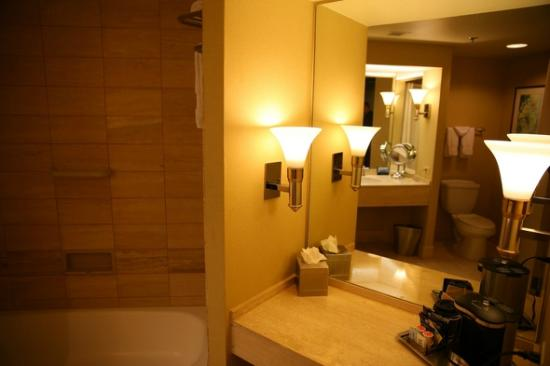 Hilton Los Angeles/Universal City: Bathroom