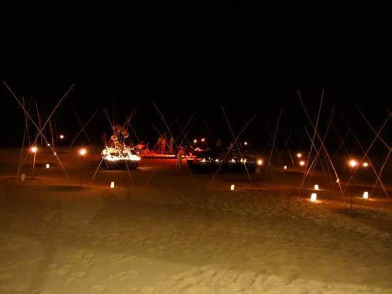 Sheraton Grand Los Cabos Hacienda del Mar : Beach private party at the resort.