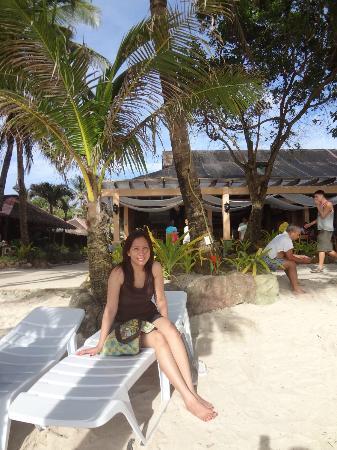 Casa Pilar Beach Resort: cas pilar's part of the beach is not crowded