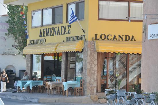 Locanda Greek Restaurant : Locanda outside