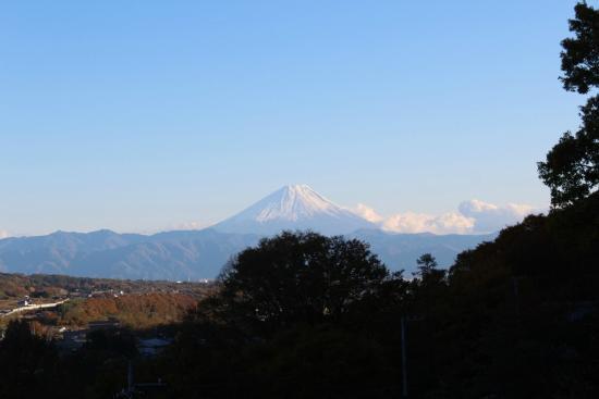 Wakamiro : Fuji-san from room balcony