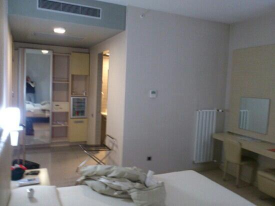 Anitta Hotel: North side standart room view