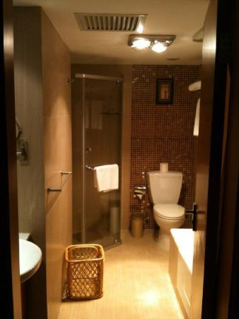 Wanhe Yalong International Hotel Shanghai: Bathroom