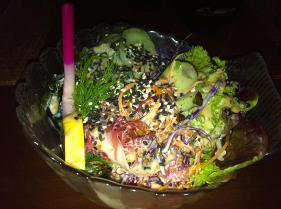The Japanese Restaurant: Japanese salad
