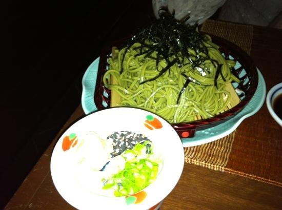 The Japanese Restaurant: soba noodles and dip