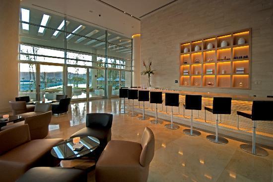 Kempinski Hotel Aqaba Red Sea : Aqua Lounge - Evening Venue Offering Cocktails and Snacks