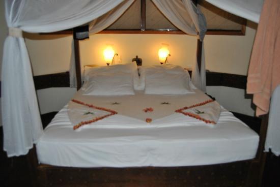 VOI Dhiggiri Resort: Torni in camera dopo lo snorkeling e....