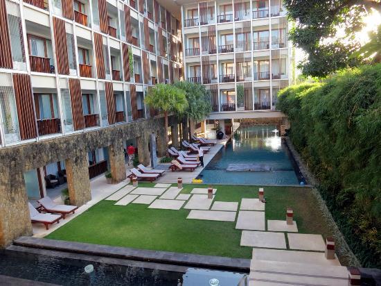 The Haven Seminyak Hotel & Suites: saat tiba di hotel/cek in