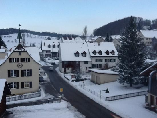Lampenberg, Schweiz: view from room