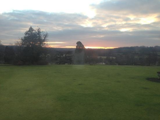 Buxted Park Hotel: View from Room 26