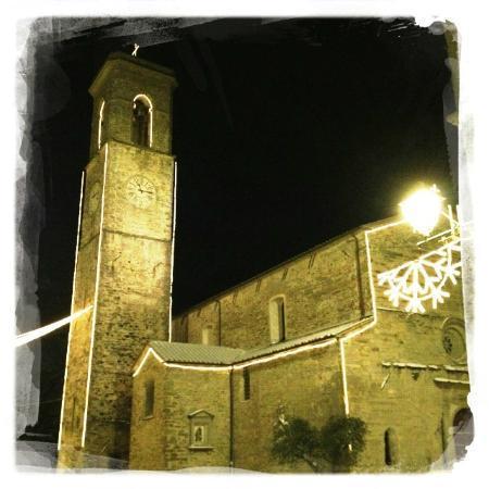 Hotel Tosco Romagnolo : Chiesa e Campanile Bagno Di Romagna