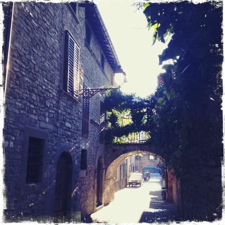 Hotel Tosco Romagnolo : Borgo