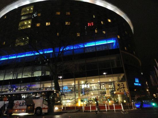 Maritim Hotel Frankfurt / Main: The imposing exterior.
