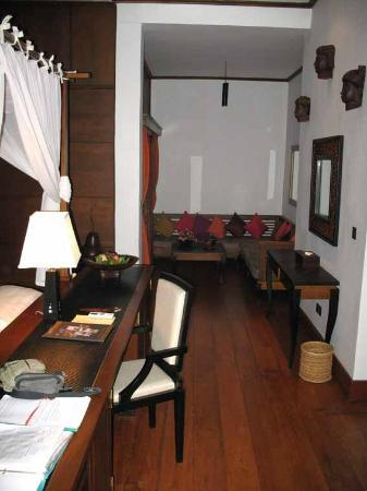 Aureum Palace Resort & Spa Inle : sitting corner