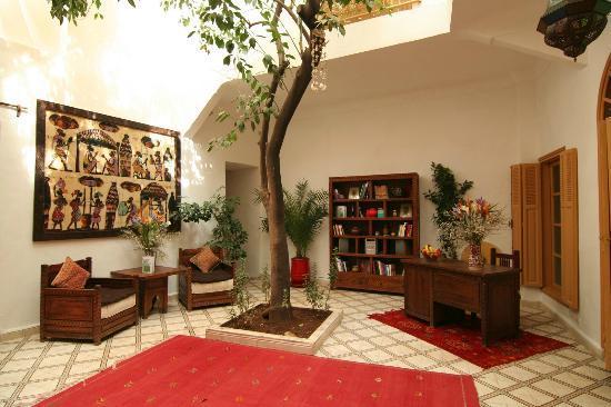 Riad Villa Mouassine: Espace commun
