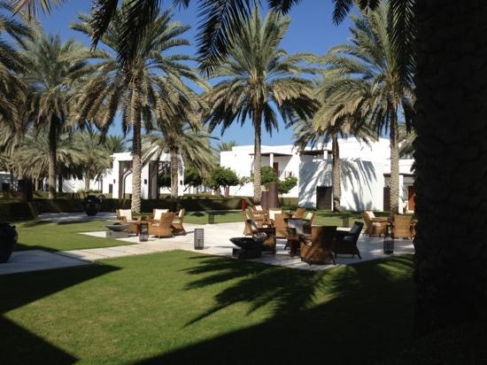 The Chedi Muscat – a GHM hotel: sitting area