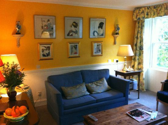 Kilmichael Country House Hotel : Garden Suite sitting room