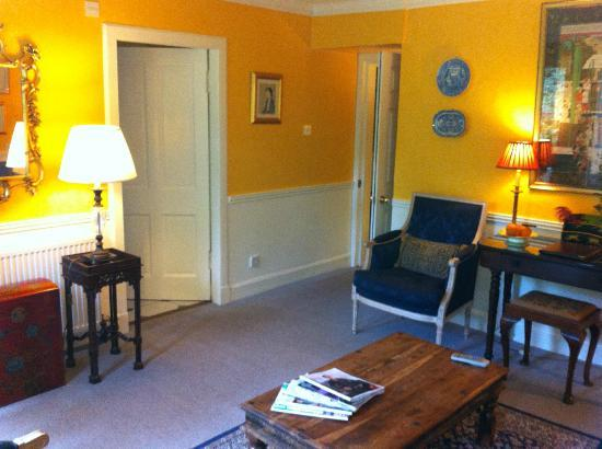 Kilmichael Country House Hotel: Garden Suite sitting room