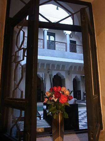 Riad Dar El Masa: 部屋からの眺め 1Fでした
