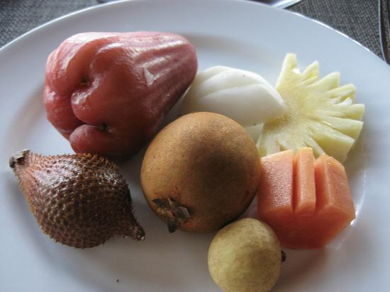 Hansar Samui Resort: Thai fruits