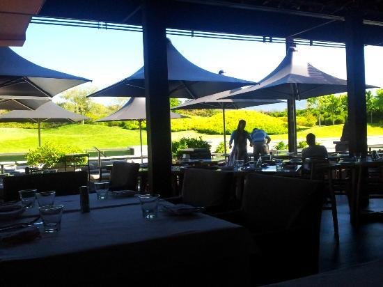 Bistro Sixteen82: View to the outside