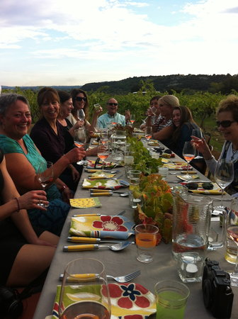 La Gramière - Wine Truck : Dinner with the truck in the vineyards!
