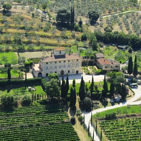 Villa la Ripa,Arezzo