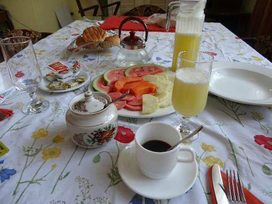 Casa Maura Habana Vieja: Petit déjeuner