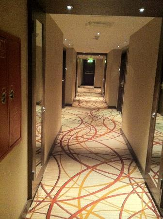 InterContinental Amman: Couloir