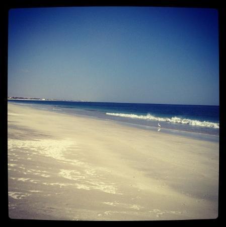 Hilton Salalah: sandy beach