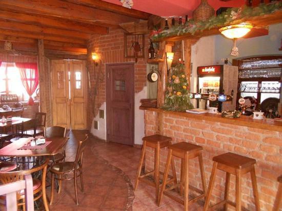 Hradebni Restaurace: Wnętrze restauracji