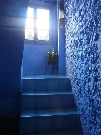 Casa Perleta: ホテル内の階段