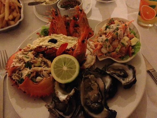 Banu Hotel: assiette du lagon