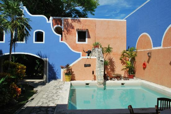 Hotel Casa de las Flores Playa del Carmen: piccola piscina per rinfrescarsi!