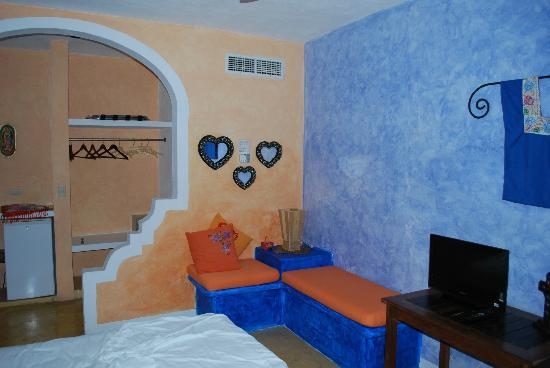 Hotel Casa de las Flores Playa del Carmen: interno camera