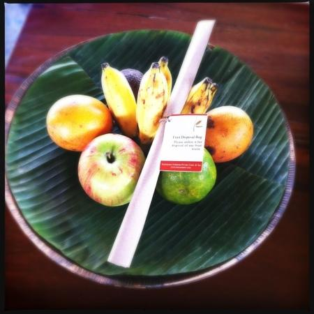 Kayumanis Jimbaran Private Estate & Spa: daily tropical fruits