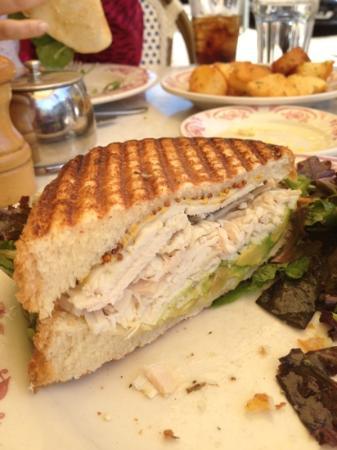 Rose's Cafe: fabuloso sándwich