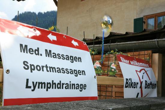 Gastehaus Hildegard : Massagen werden auch angeboten
