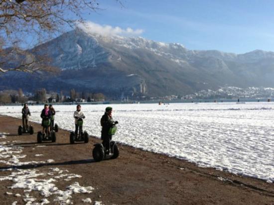 Mobilboard Segway : Sortie segway décembre 2012 sur Annecy