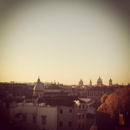 The First Roma: Great skyline on roof bar