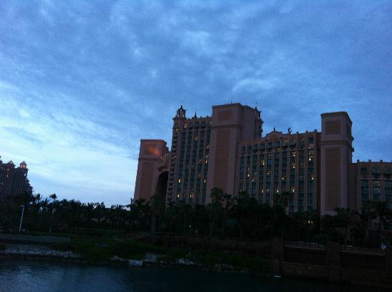 Atlantis - Harborside Resort: View from our romm.