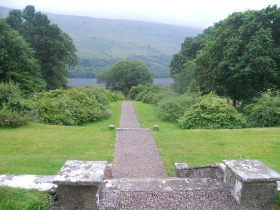 Glengarry Castle Hotel: Vista desde el hotel