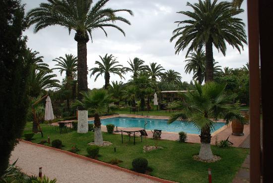 Ben Slimane, Morocco: Poolview