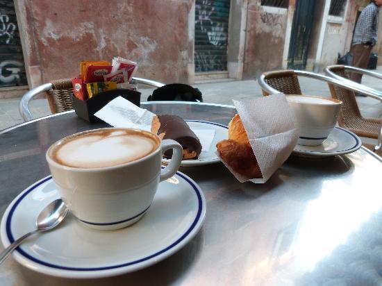 Bar Da Gino: Delicious breakfast!